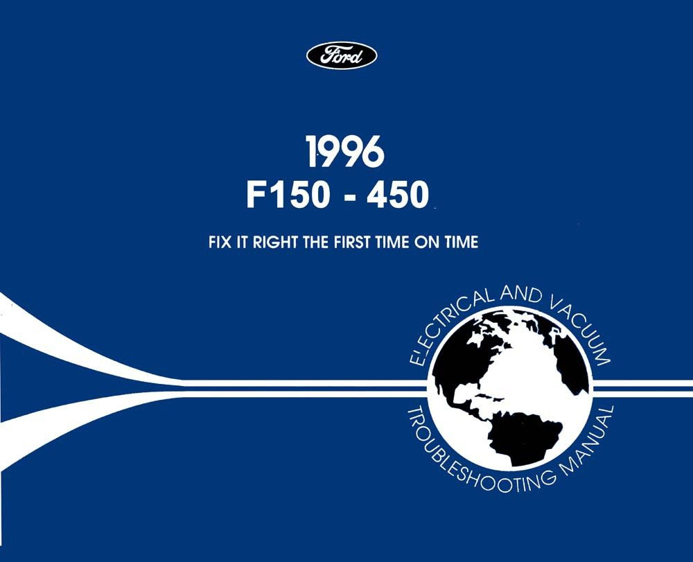 OEM Repair Maintenance Shop Manual Bound for Ford Truck F150-450 ...