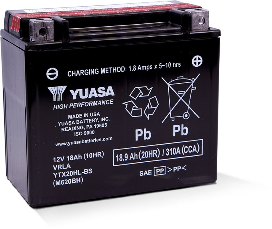 12v 18ah Battery >> Details About Yuasa Fresh Pack Agm High Performance Lead Acid 12v 18ah Battery 216wh 310 Cca