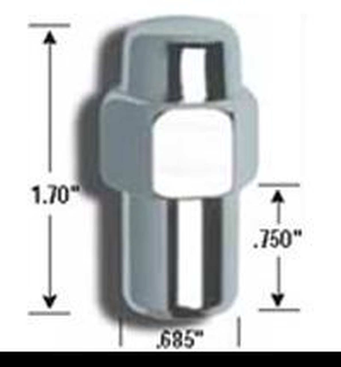 7//16-Inch Thread Size Gorilla Automotive 73671N Standard Mag Wheel Locks