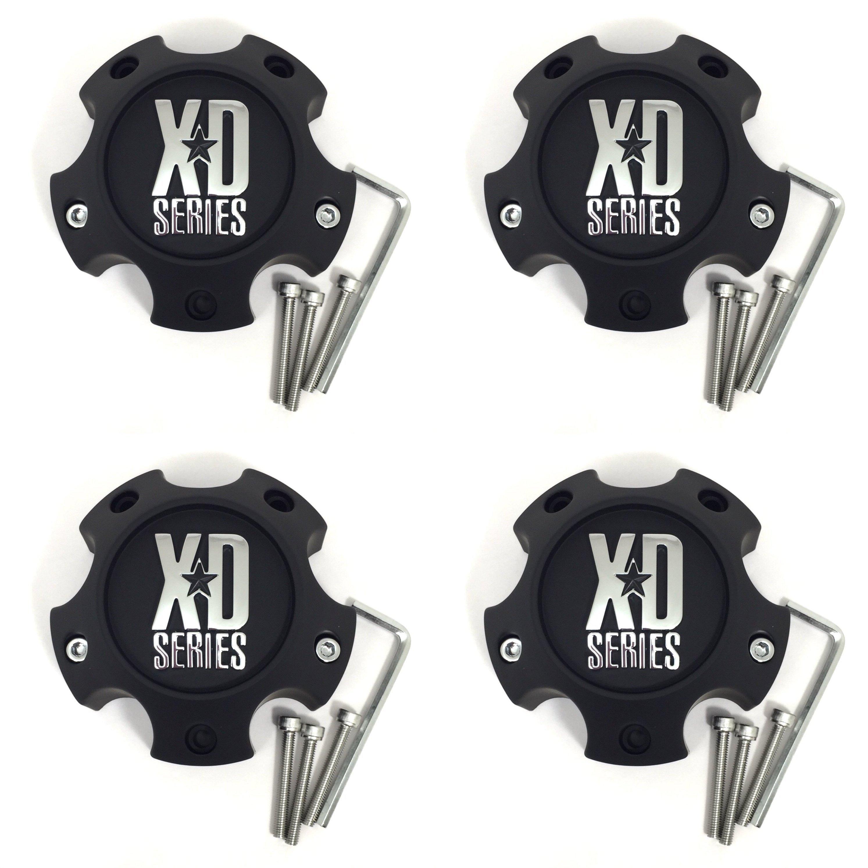 """KMC XD Chrome Center Cap 4.75/"""" 6L XD798 Addict XD808 Menace XD820 Grenade Rim"""