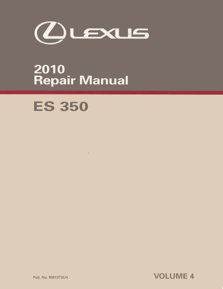 lexus es 350 maintenance schedule 2010
