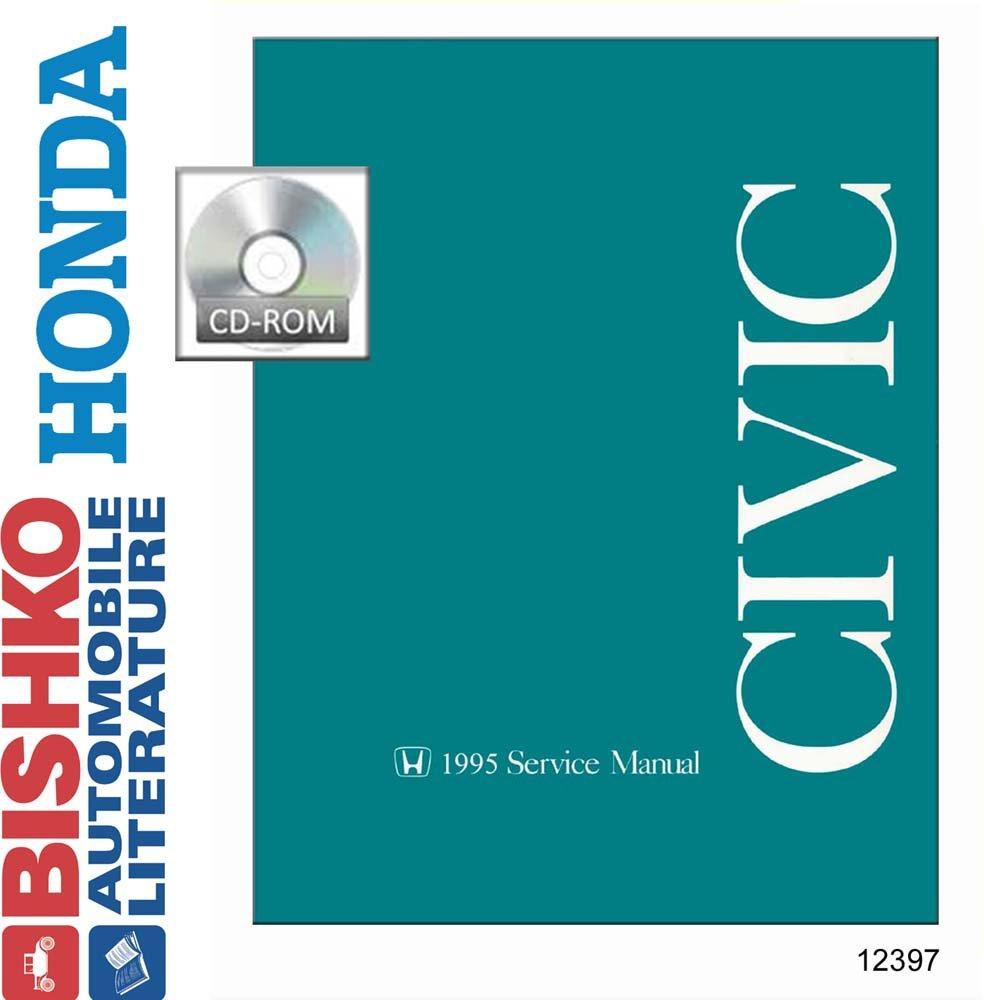 Bishko OEM Digital Repair Maintenance Shop Manual CD for Honda ...