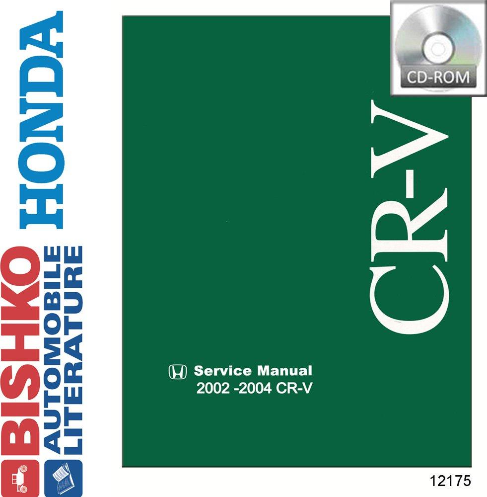 Bishko OEM Repair Maintenance Shop Manual Bound for Honda Cr-V 2007-2011