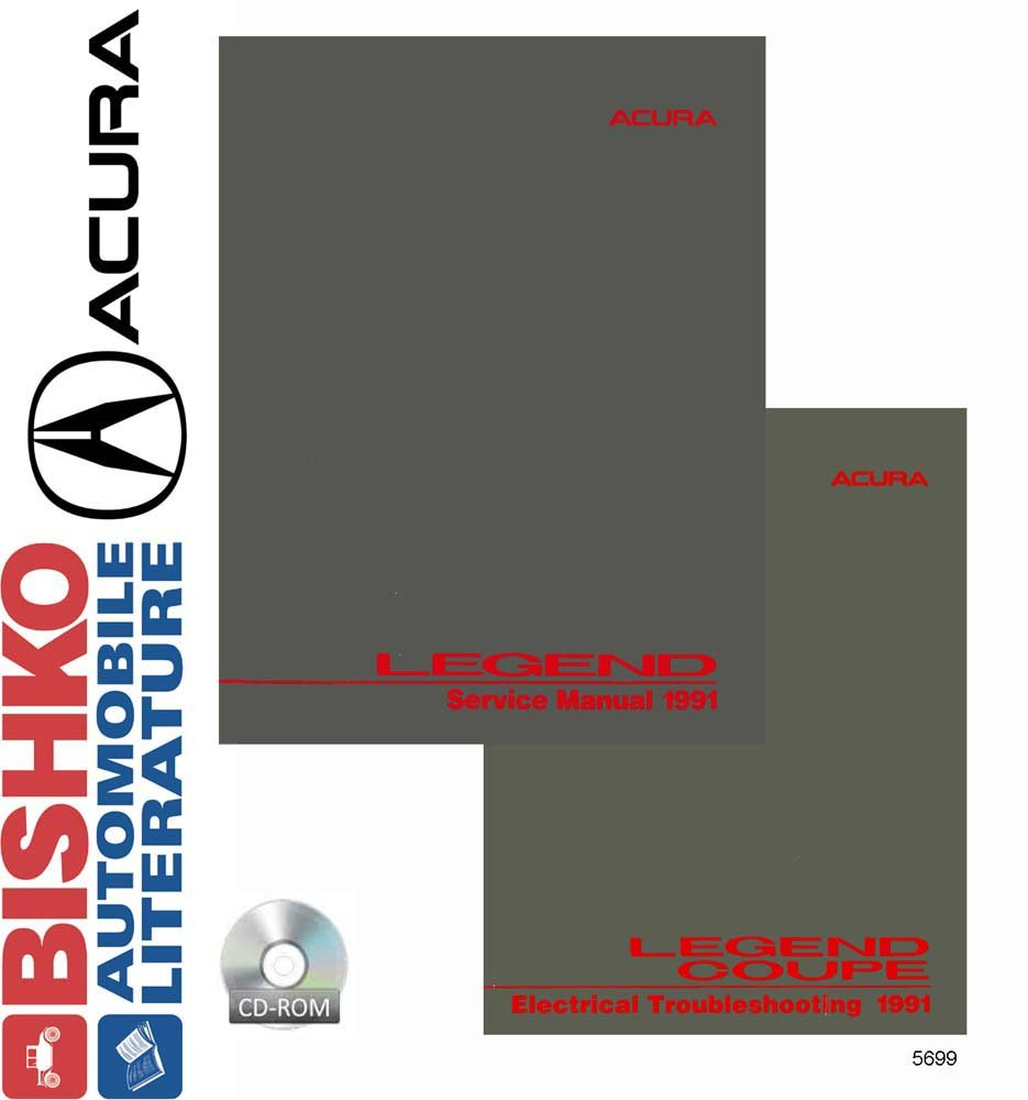 OEM Digital Repair Maintenance Shop Manual CD For Acura
