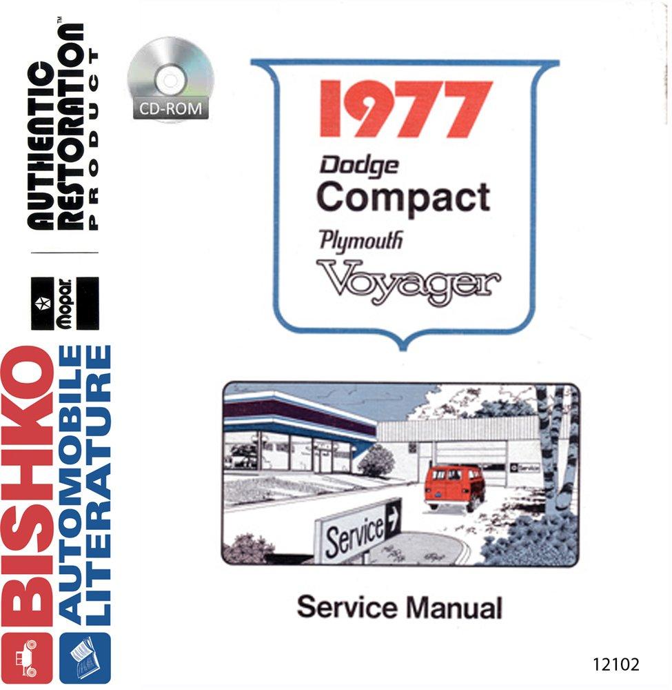 Oem Digital Repair Maintenance Shop Manual Cd For Dodge Truck Van  Voyager 1977