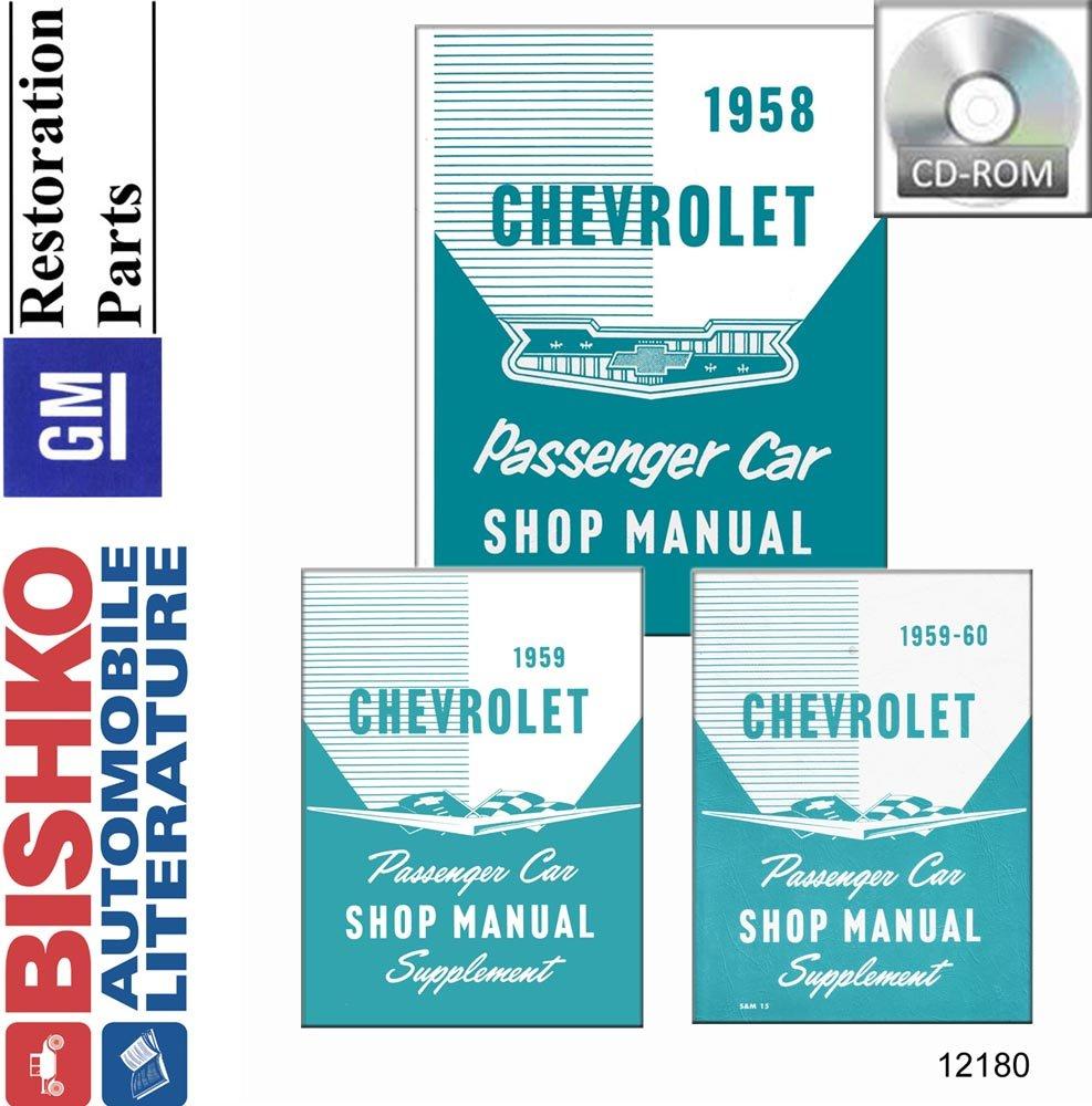 OEM Digital Repair Maintenance Shop Manual CD Chevy Camaro//Pontiac Firebird 1999