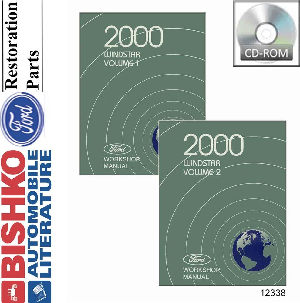 Oem Digital Repair Maintenance Shop Manual Cd For Ford Truck Windstar 2000