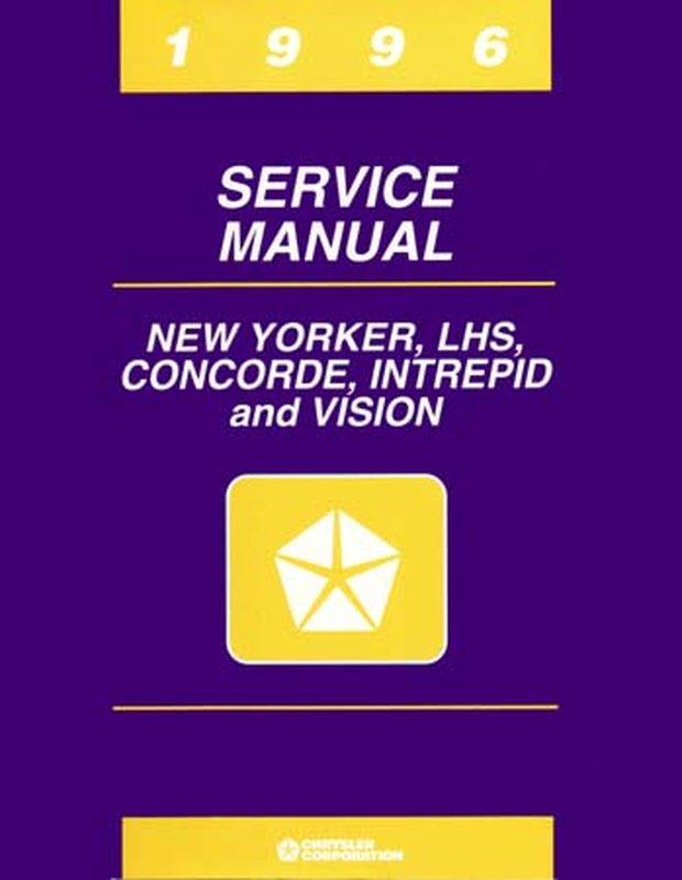 Oem Repair Shop Manual Bound For Eagle Vision 1996