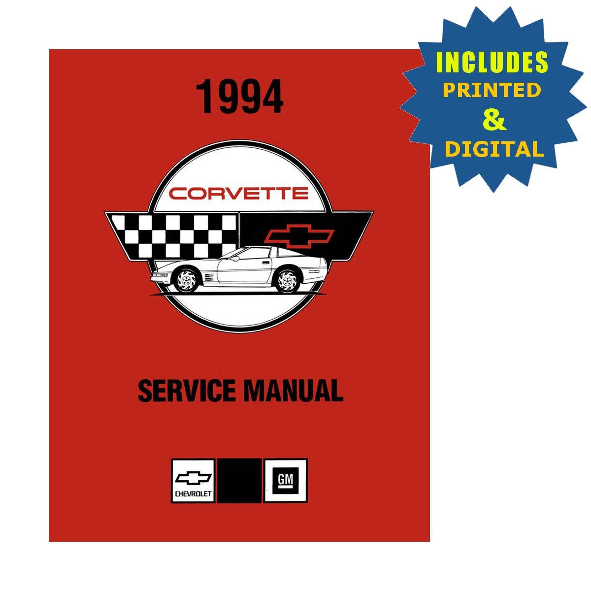 OEM Repair Maintenance Shop Manuals CD /& Bound for Chevrolet Corvette 1985
