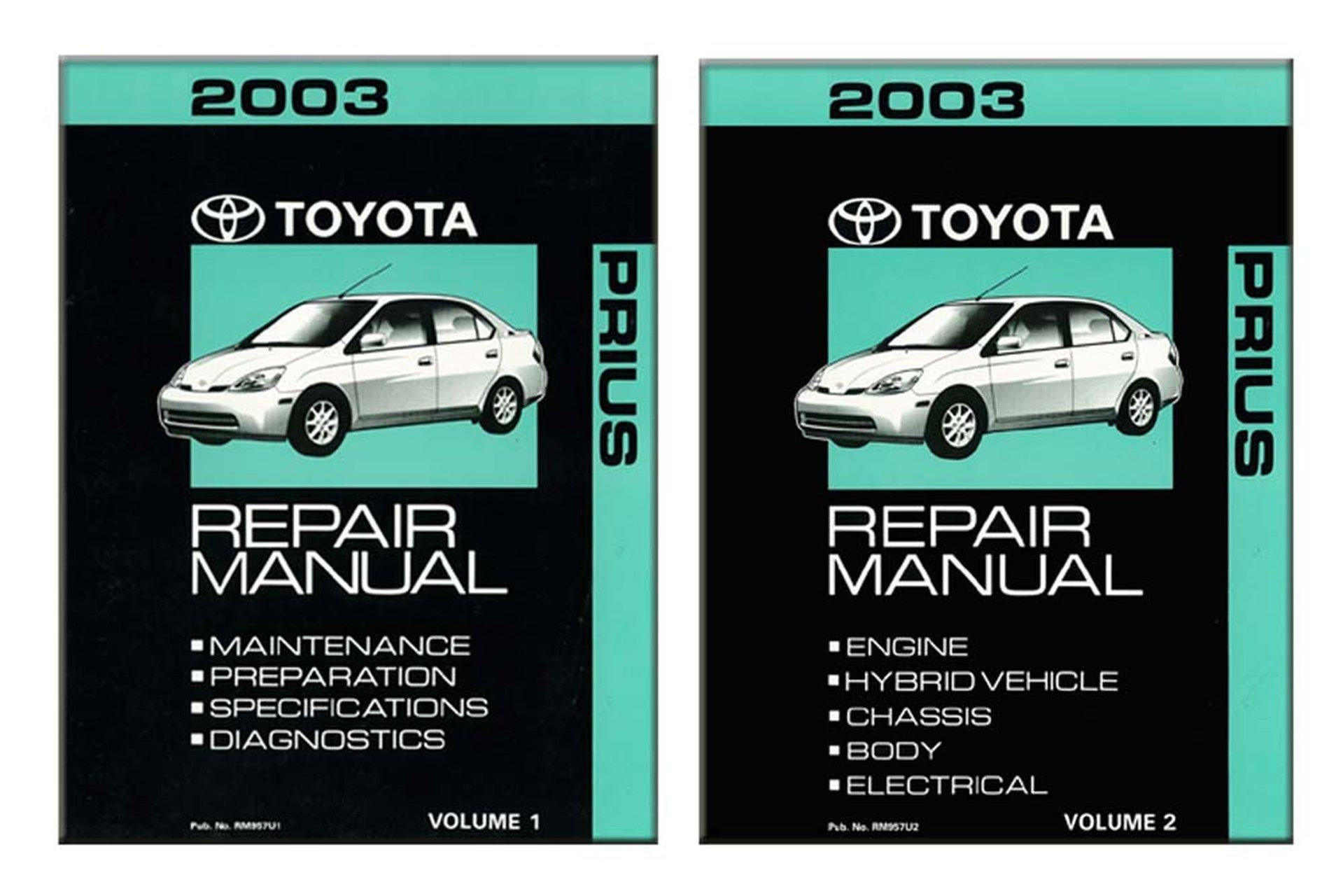 Bishko Oem Repair Maintenance Shop Manual Bound For Toyota