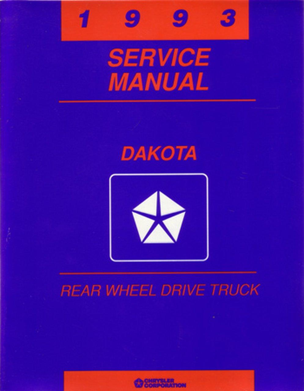 Bishko Oem Repair Maintenance Shop Manual Bound For Dodge Truck Dakota 1993