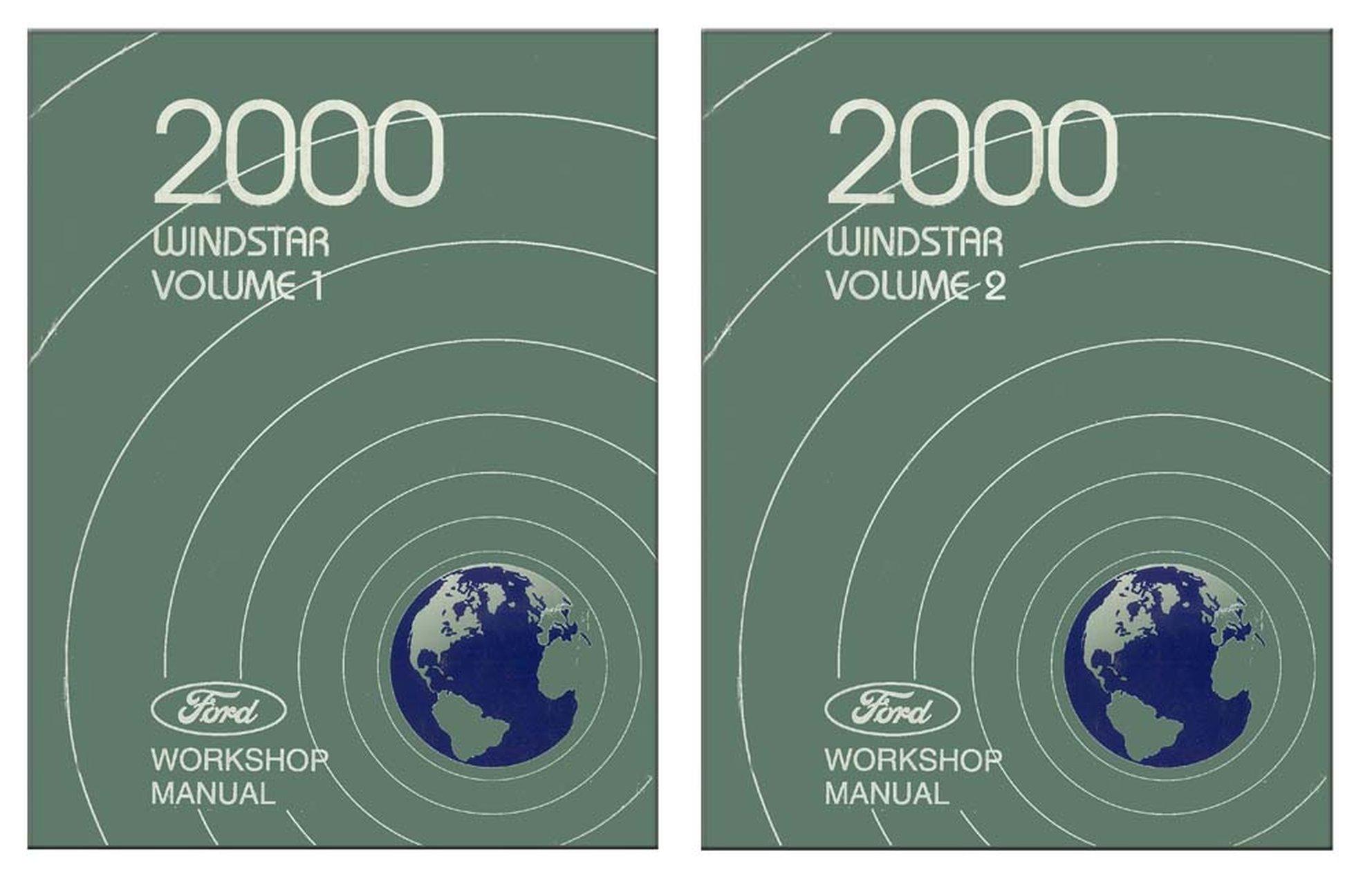 Bishko Oem Repair Maintenance Shop Manual Bound For Ford Truck Windstar 2000