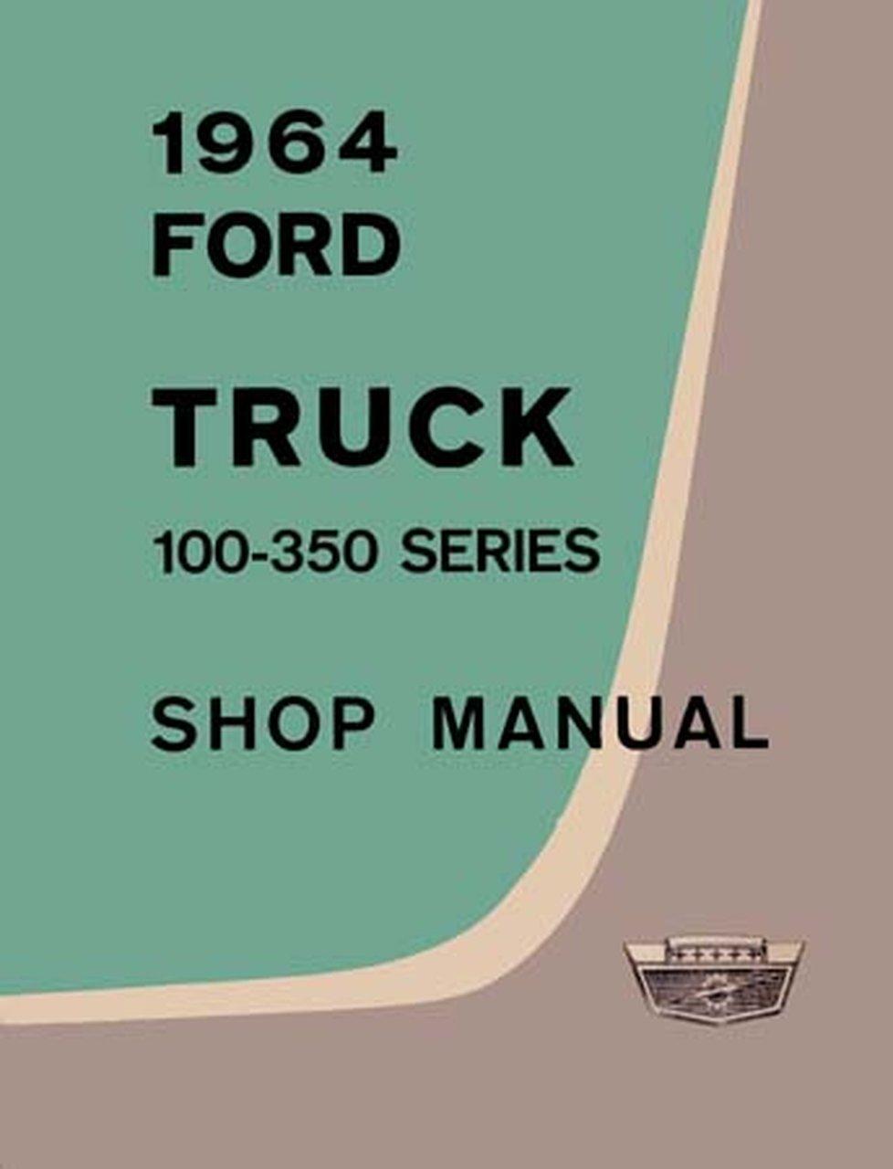 Bishko OEM Repair Maintenance Shop Manual Bound for Ford Truck F100-350 1964