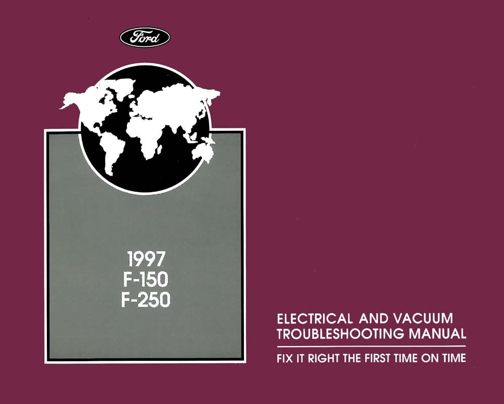 Bishko OEM Maintenance Owner/'s Manual Bound for Ford Truck Bronco 1986