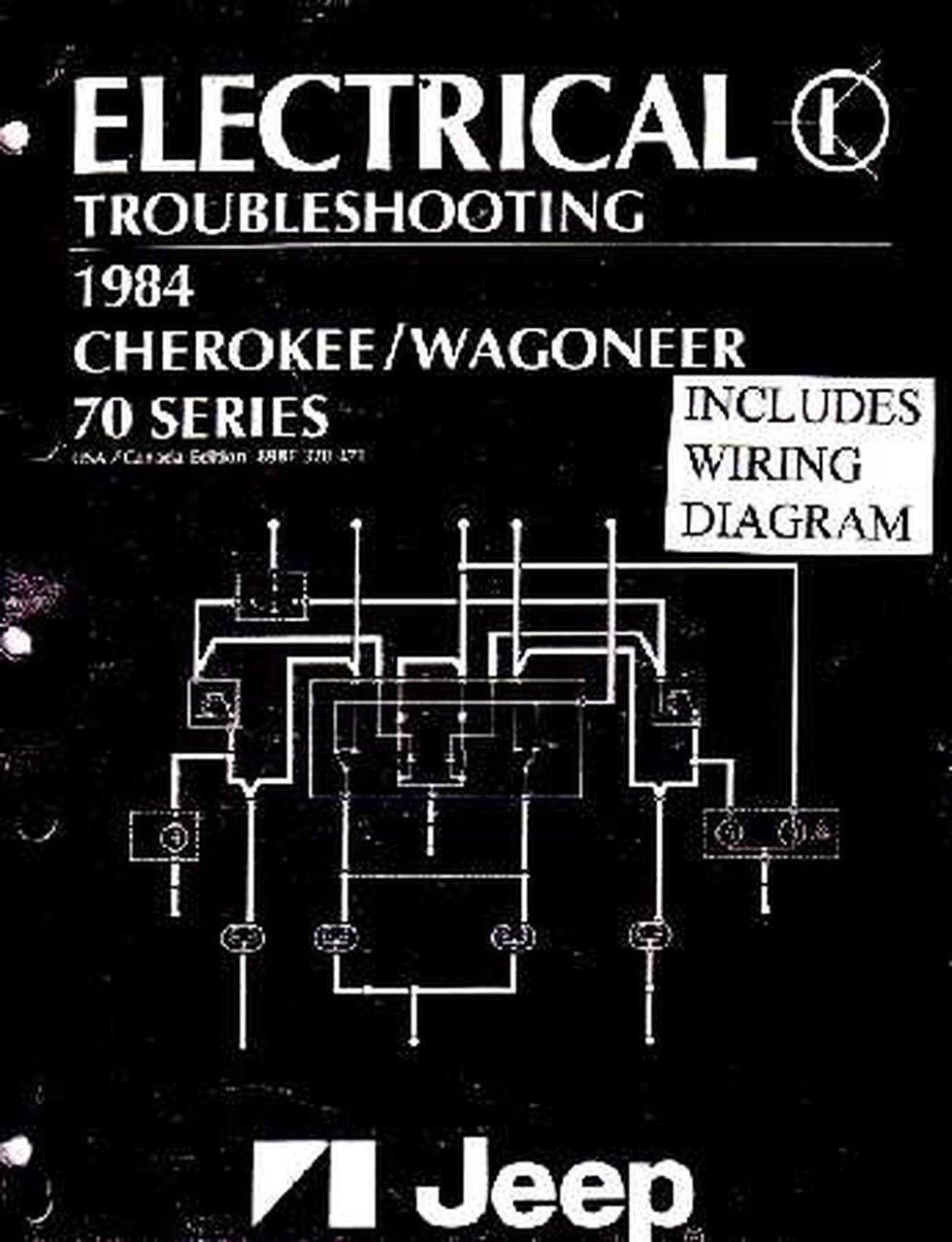 Oem Shop Manual Jeep Cherokee  Wagoneer Evtm W   Wiring