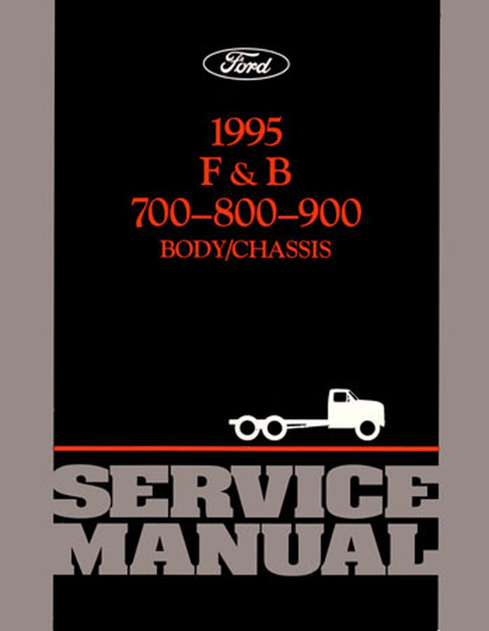 Oem Repair Maintenance Shop Manual Bound For Ford Truck