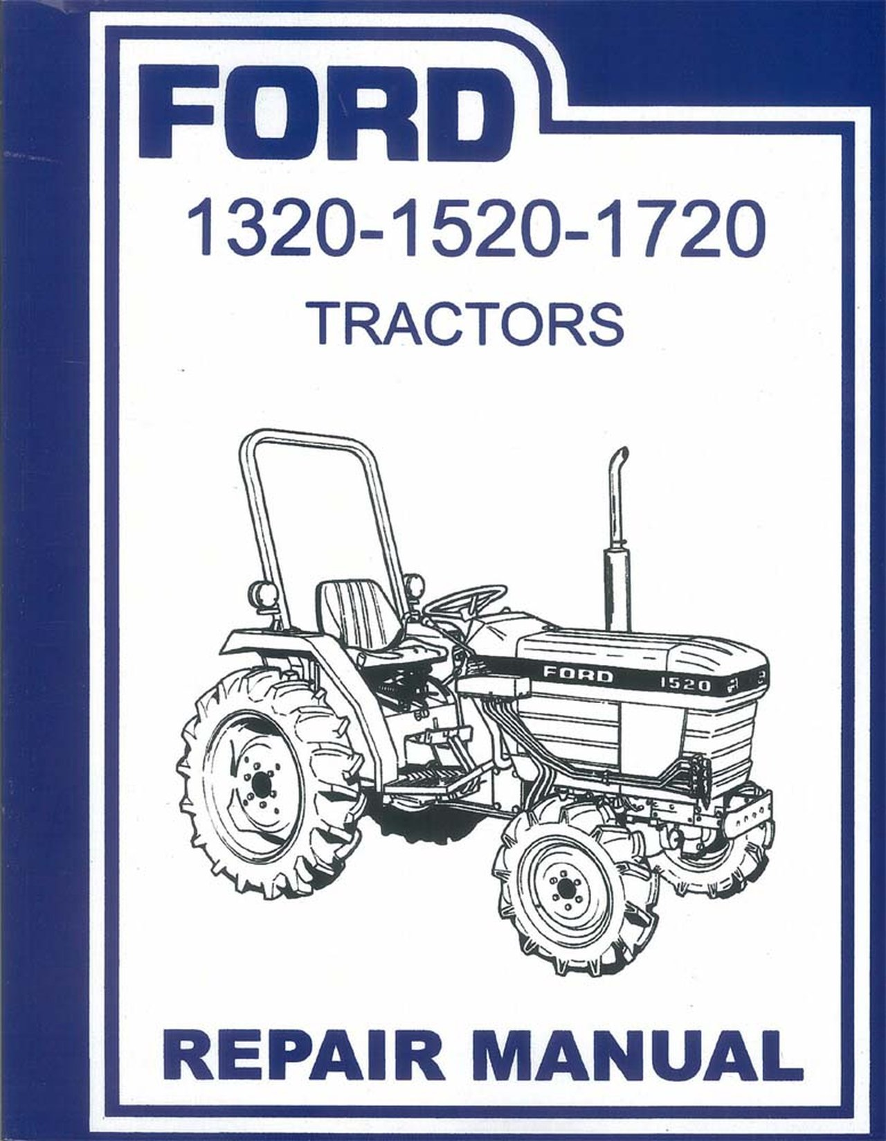 Oem Repair Maintenance Shop Manual Bound Ford Tractor 1320