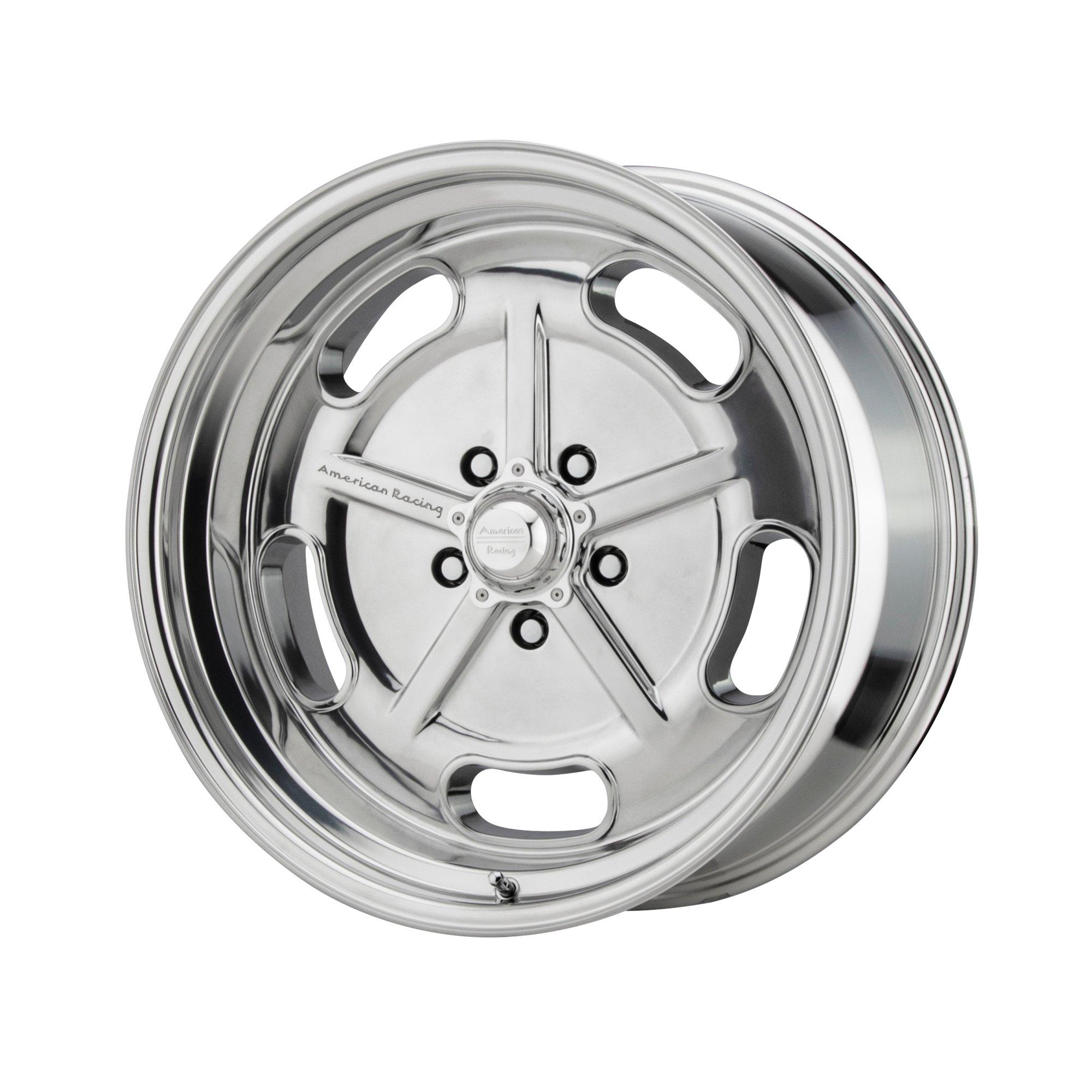 American Racing 18x10 VN215 Classic Torq Thrust II Wheel Gray Mach 5x5//127 6