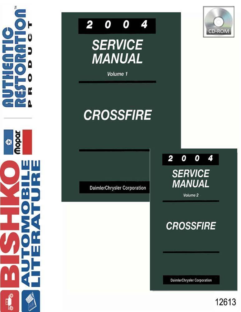 Bishko OEM Repair Maintenance Shop Manual Bound for Jeep Wrangler 2004