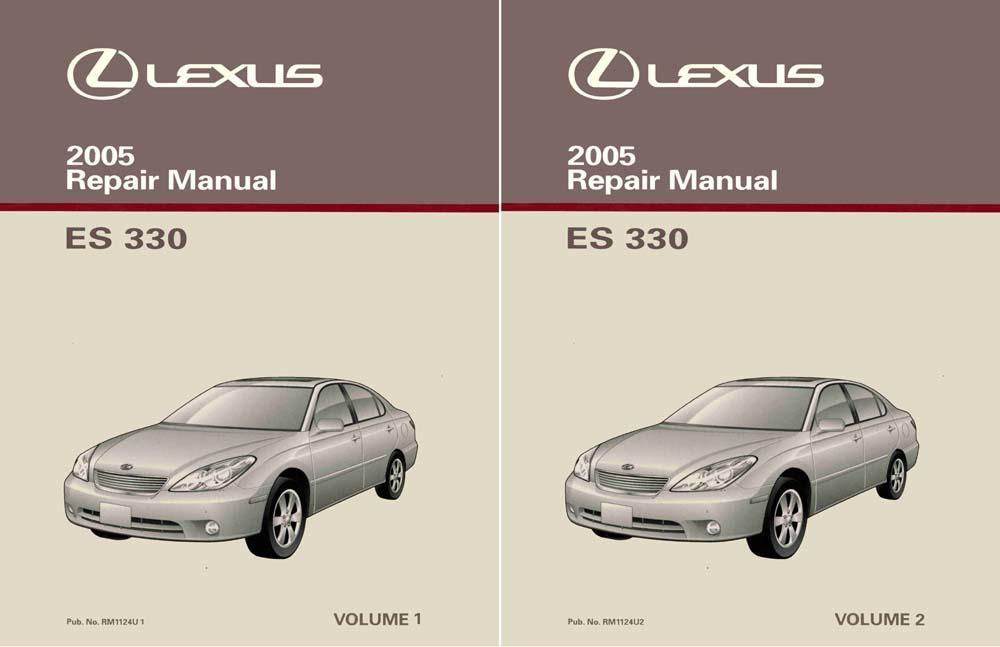Bishko Oem Repair Maintenance Shop Manual Bound For Lexus