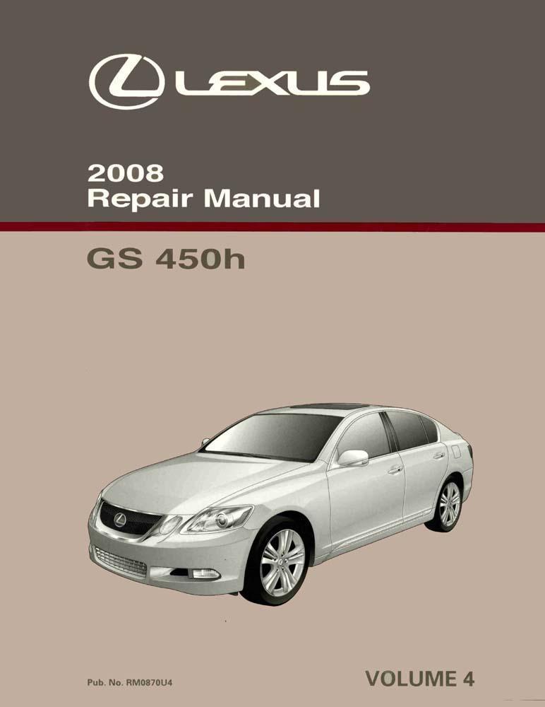 lexus gs450h 2008 manual
