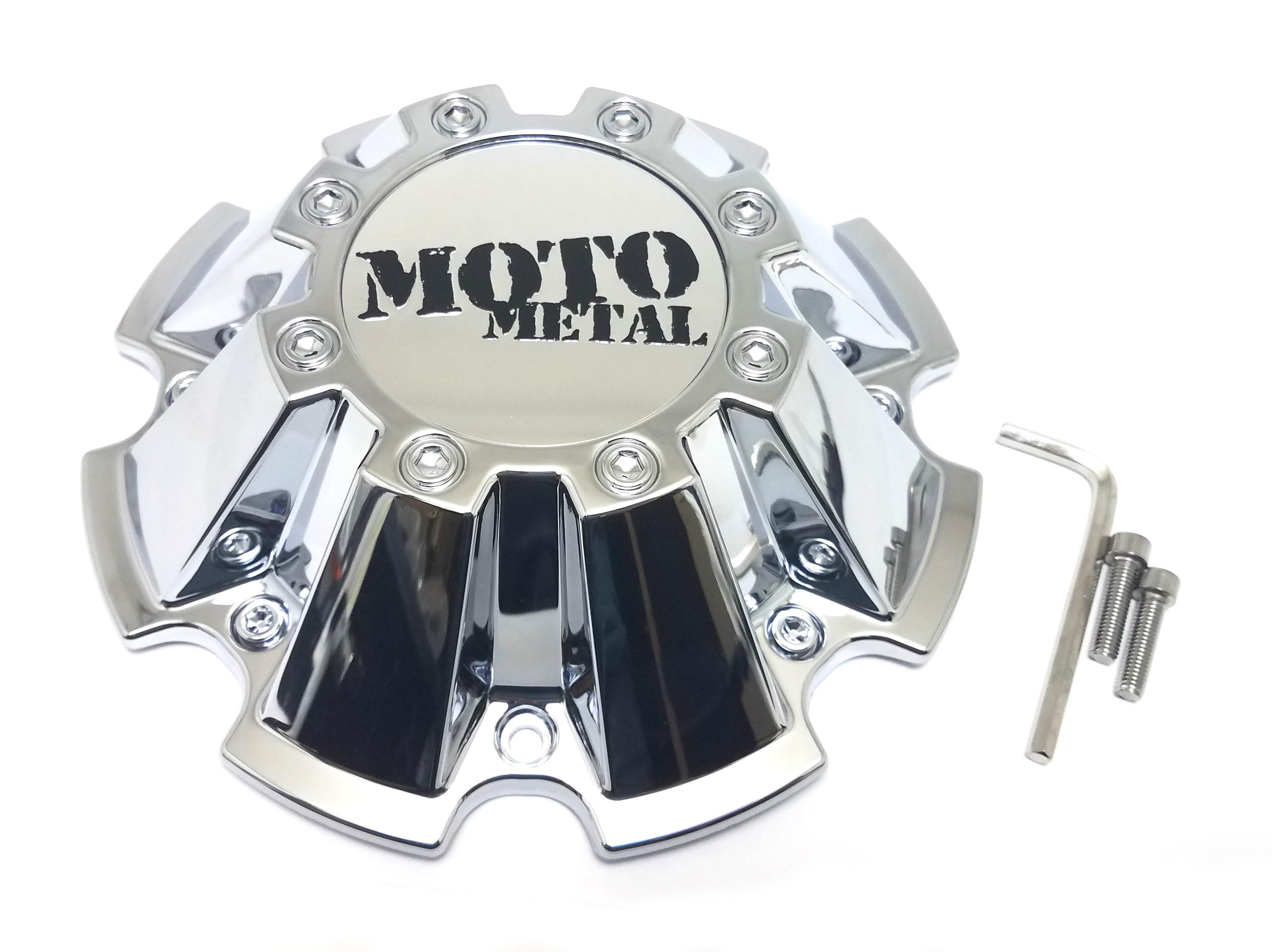 Moto Metal Chrome 8 Lug Center Cap fits MO962 MO200 M793CHROME CAP M-793