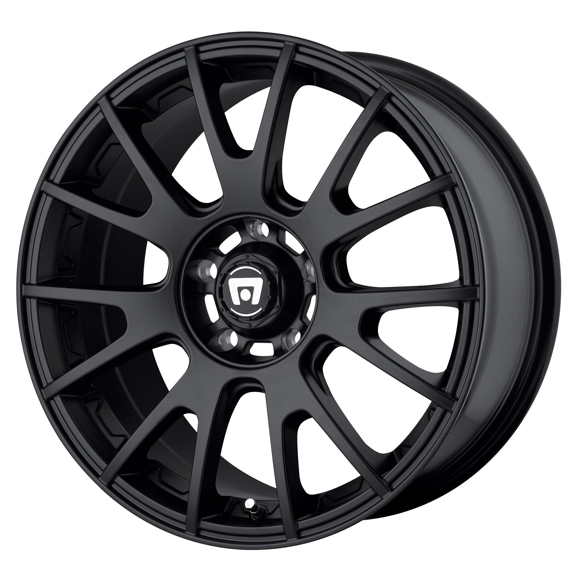 "Motegi 18x8 MR118 Wheel Matte Black 5x4.5 5x114.3 PCD 45mm Offset 6.27/""BS"