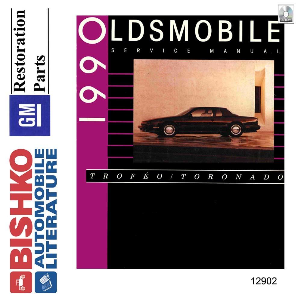 OEM Digital Maintenance Shop Manual CD for Oldsmobile Toronado, Trofeo 1990    eBayeBay