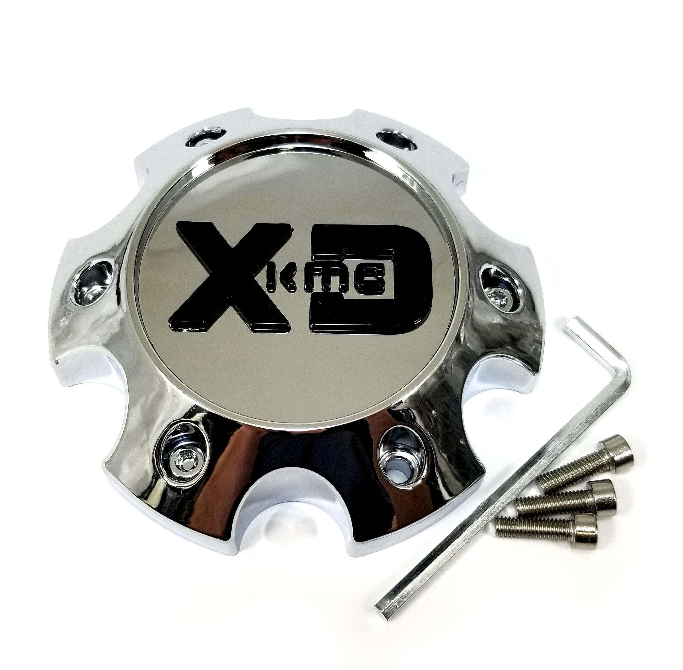KMC XD Series Black Wheel Center Cap 6L XD835 Swipe XD834 Cyclone XD831 Chopstix